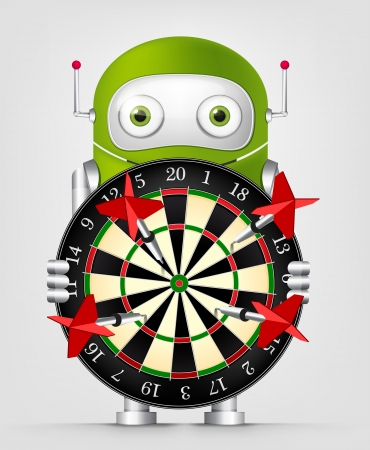 Green Robot Stock Vector - 20070211