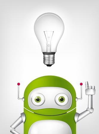 Green Robot Stock Vector - 20070214