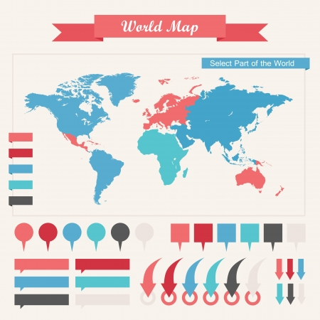 map pin: Infographic Elements