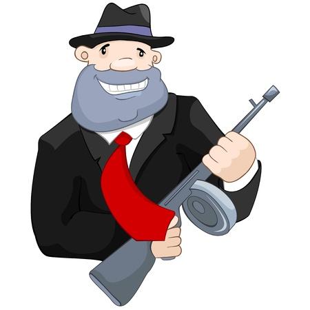 Crime Man Vector