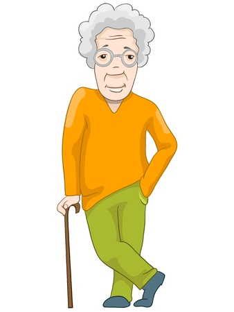 Adult Man Ilustração