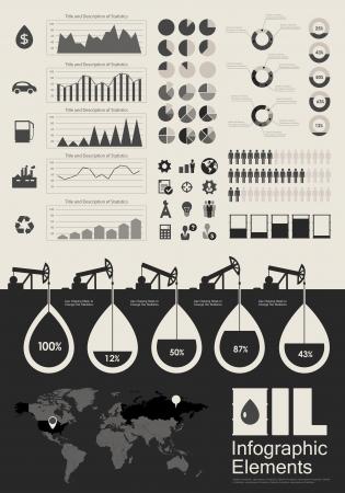 industria petrolera: Industria del Petr�leo Elementos de Infograf�a