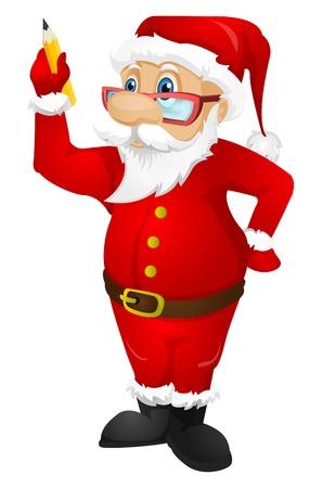 fictional: Santa Claus Illustration