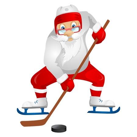 ice: Santa Claus Illustration