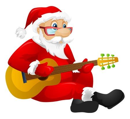 winter blues: Santa Claus Illustration