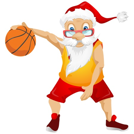 competitive: Santa Claus Stock Photo