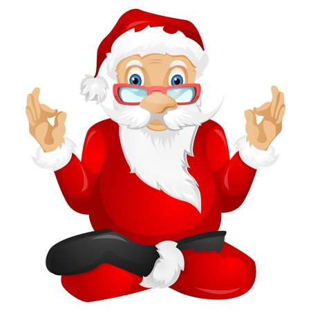 christmas costume: Santa Claus Illustration