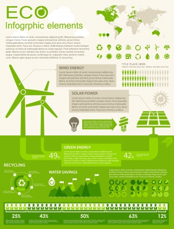 opportunity: ECO Infographic elements. Opportunity to Highlight any Country Illustration
