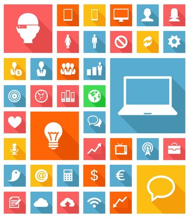 Web and Soft Icon set Stock Vector - 21822258