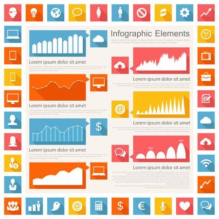 IT Industry Infographic Elements Stock Vector - 21822318