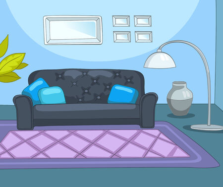 Room Illustration. Vector Illustration. EPS 10.