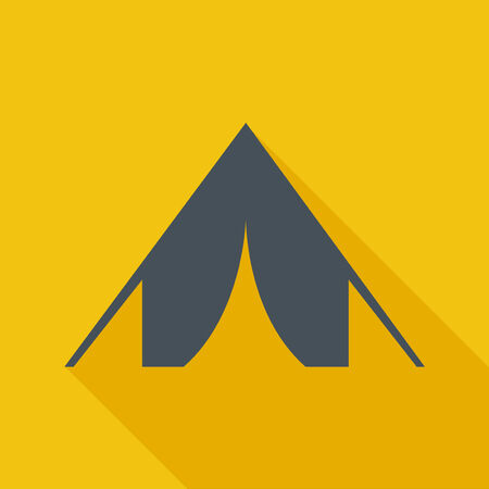 Travel Flat Icon. Vector Pictogram. EPS 10. Reklamní fotografie