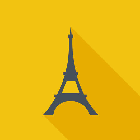 tower: Travel Flat Icon. Vector Pictogram. EPS 10. Stock Photo