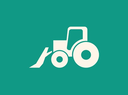 Transportation Flat Icon. Vector Pictogram. EPS 10. photo