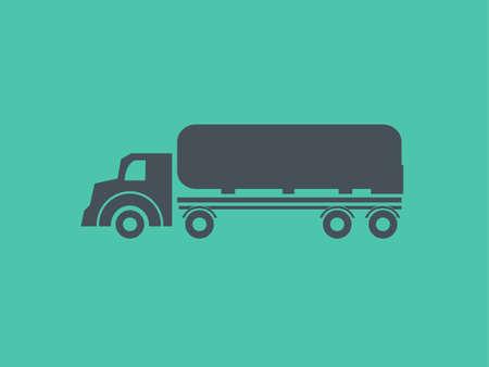 Transportation Flat Icon. Vector Pictogram. EPS 10.