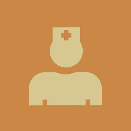 icon vector: Medical Flat Icon. Vector Pictogram. EPS 10. Stock Photo