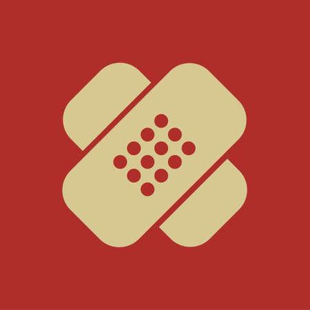 dispensary: Medical Flat Icon. Vector Pictogram. EPS 10. Stock Photo