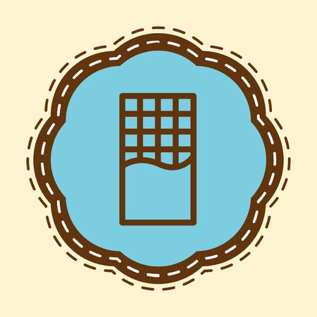 Chocolate Bar Flat Icon