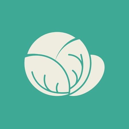 Cabbage Flat Icon