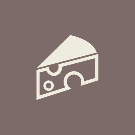 savoury: Cheese Flat Icon