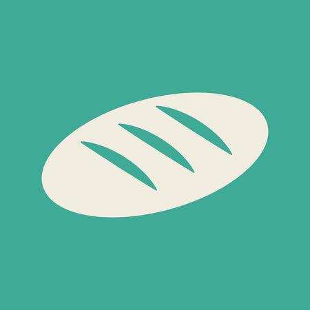 Bread Flat Icon