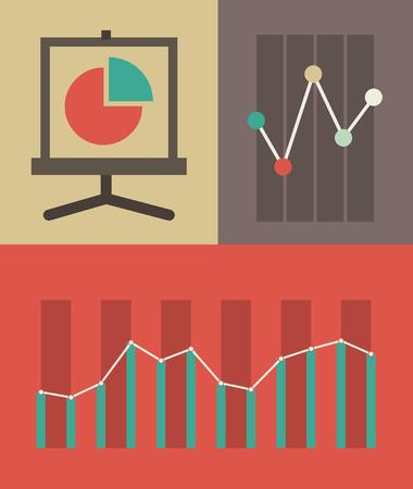 Flat Design Infographic Elements. Stock Vector - 27986416