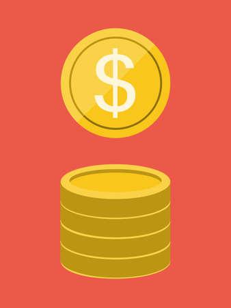 geld: Flat Design. Money.