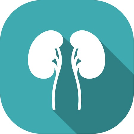 dialysis: Medical Flat Icon Pictogram.