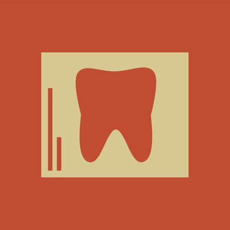 Dental Flat Icon   向量圖像