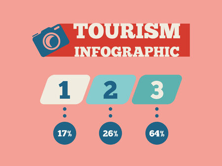 Travel Flat Infographic Element Graphics