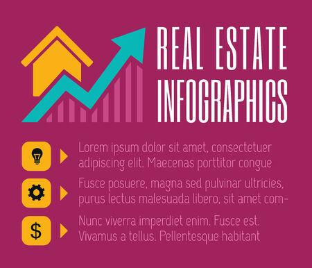 Immobiliare appartamento Infografica Elemento grafico Archivio Fotografico - 30067113
