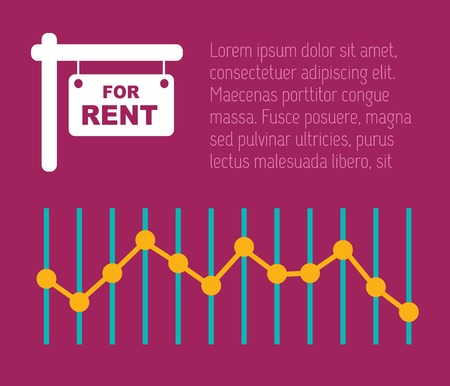 Real Estate Flat Infographic Element Graphics