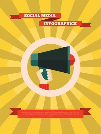 Technology Flat Infographic Element Graphics