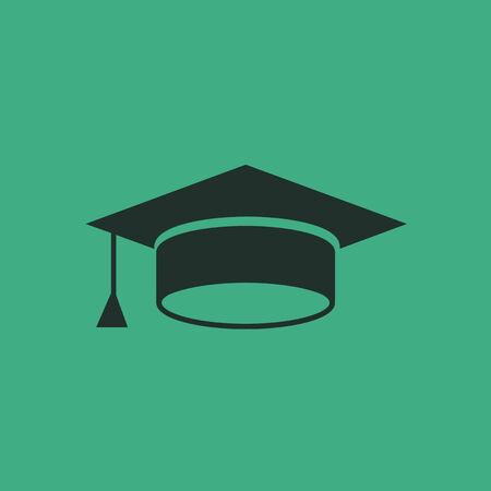 Flat Education Icon  Vector Graphics  向量圖像