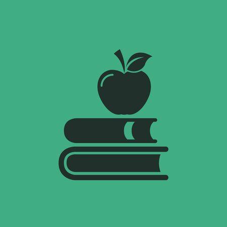 Flat Education Icon  Vector Graphics  Illustration
