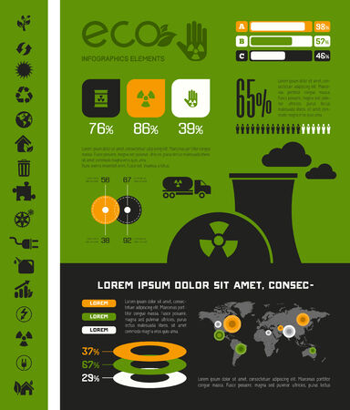 opportunity: Flat Infographic Elements Opportunity to Highlight any Country on the World Map