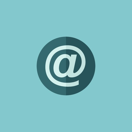 email icon: Email Flat Icon  Vector Graphics