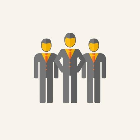 comité d entreprise: Appartement Affaires graphiques Icon