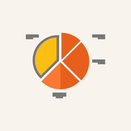 representations: Business Flat Icon Graphics