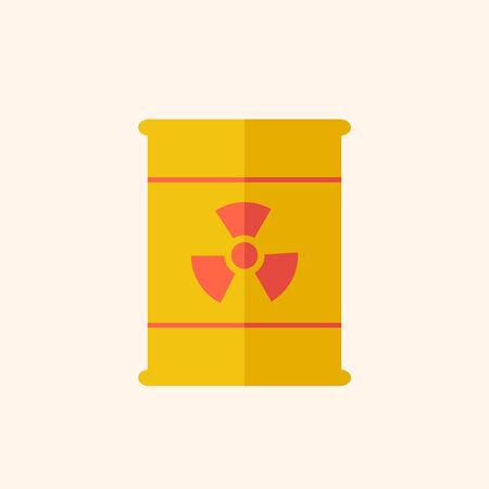 Nucléaire. Icône de l'écologie. Design plat. Vecteur EPS 10. Banque d'images - 31603462