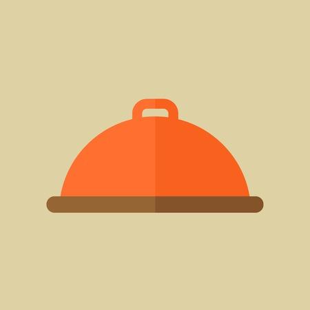 Food Flat Icon Ilustrace