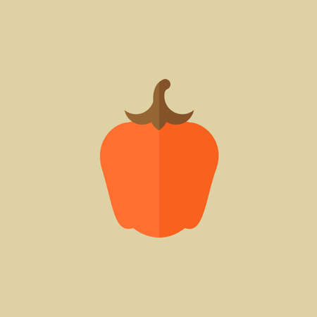 Pepper. Food Flat Icon Фото со стока - 31788937