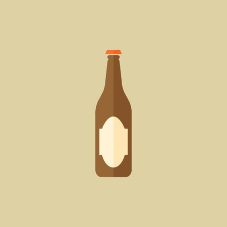 Drink Flat Icon. Vector EPS 10.