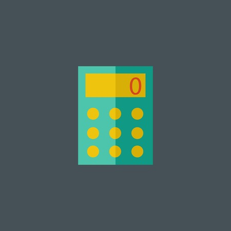 Calculator Flat Icon.