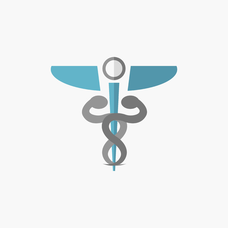 med: Medical Flat Icon. Vector Pictogram. EPS 10. Illustration