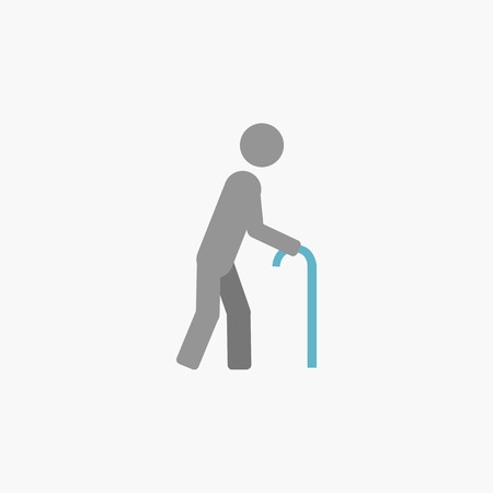 Disability. Medical Flat Icon. Vector Pictogram. Vector
