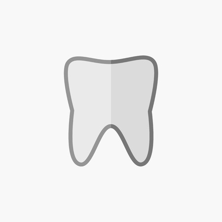 med: Dental. Medical Flat Icon. Vector Pictogram. Illustration