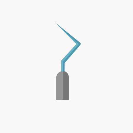 Dental. Medical Flat Icon. Vector Pictogram. Ilustração