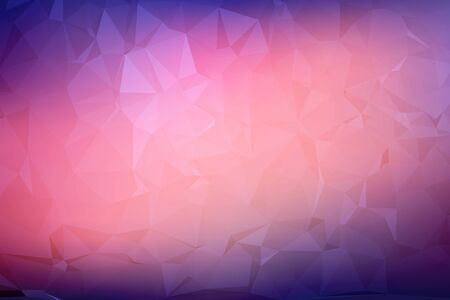 crystal background: Abstract triangle polygonal vector geometric background Illustration