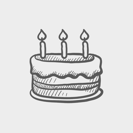 Birthday cake with candles sketch icon for web and mobile hand birthday cake with candles sketch icon for web and mobile hand royalty free cliparts vectors and stock illustration image 42978198 sciox Image collections